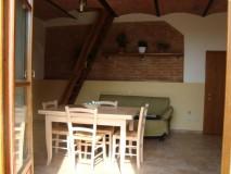 Toskana Ferienhaus mit Hund - La Casina Wohnkueche