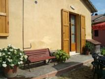 Toskana Ferienhaus mit Hund - La Casina - Ansicht