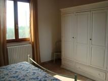 Toskana Ferienhaus mit Hund - La Casina Schlafzimmer