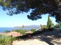 Wunderschöne Meersicht | Ferienhaus Elba Meerblick