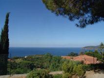 weiter Meerblick auf den Golfo Stella | Ferienhaus Elba Meerblick