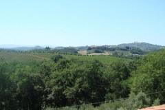 Toskana Ferienhaus Alessandra - Ausblick Wohnbereich