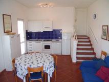 Wohnküche | Ferienhaus Elba Meerblick