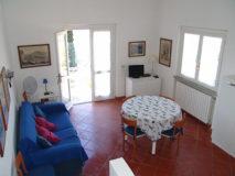 Wohnküche mit Schlafsofa | Ferienhaus Elba Meerblick