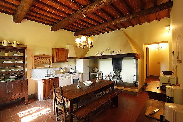ferienhaus toscana mit pool nahe florenz | toskanazeiten - Toskana Küche