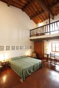 Toskana Ferienhaus - Ferienhaus Niccolini - Doppelzimmer mit Galerie