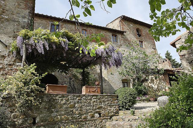 Toskana ferienhaus mit pool und garten nahe florenz - Toskana garten ...