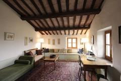 Toskana Ferienhaus - Ferienhaus Niccolini - Wohnzimmer