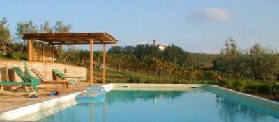Ferienwohnung Toscana Weingut | Großer Gemeinschaftspool