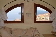 Ferienhaus Elba - Villa Soprana - Ausblick Mansarde