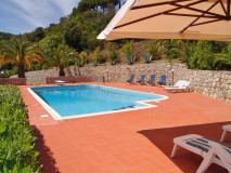 Ferienhaus Elba mit Pool | Villetta Le Palme | Pool