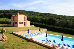 Ferienhaus San Gimignano - Gästehaus