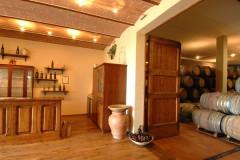 Saal für Degustationen im Weingut