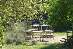 Ferienhaus Siena, Toskana - Ferienwohnung Girasole - Gartenbereich