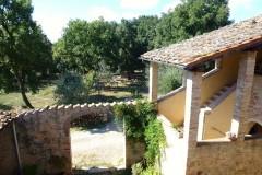 Ferienhaus Siena, Toskana - Ferienwohnung Papavero - Gartenbereich