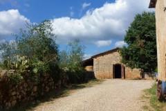 Ferienhaus Siena La Corte, Toskana - Jahrhundertealte Steinmauer