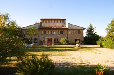Ferienwohnung Toskana - Casale Olivo - Ansicht