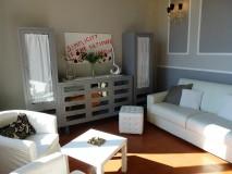 Luxus Ferienwohnung Florenz - Wohnbereich