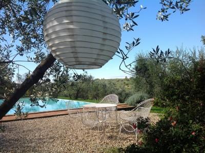 Ferienwohnung Toskana | Landhaus Le Rose | Pool