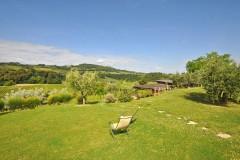 Ferienwohnung Toskana | Gartenbereich Agriturismo