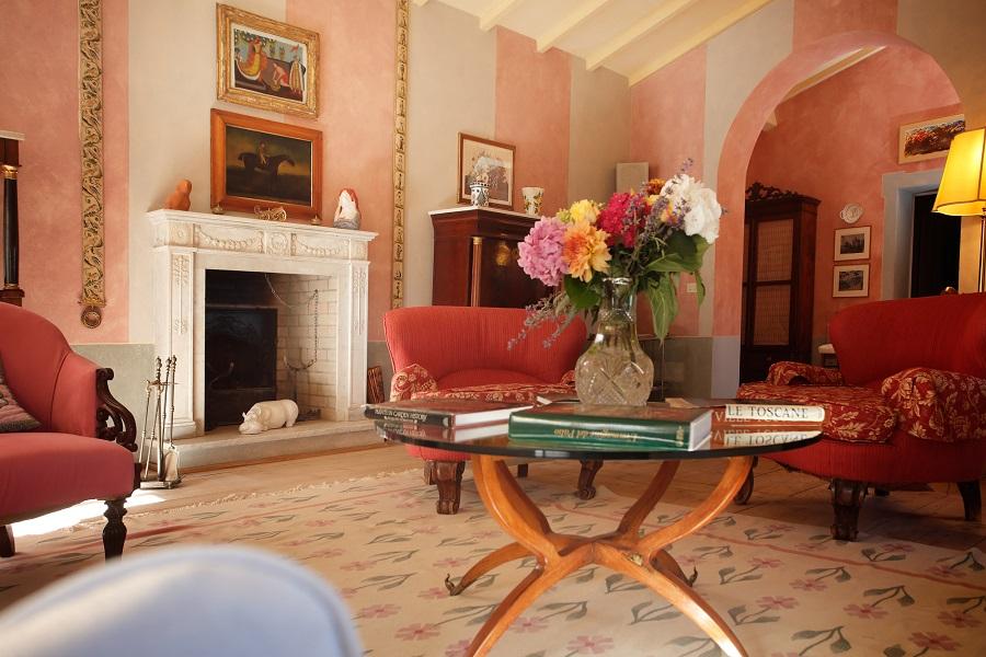 luxus ferienwohnung toskana im weingut chianti classico. Black Bedroom Furniture Sets. Home Design Ideas
