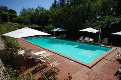Ferienwohnungen Toskana mit Pool