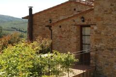 Ferienwohnung Toskana Weingut | Anice Terrassenbereich