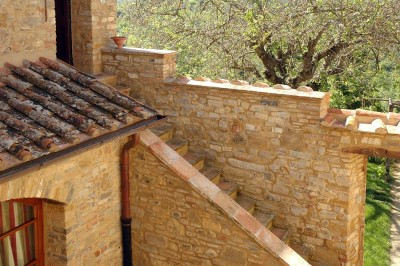 Ferienwohnung Toskana Weingut | Anice Eingangsbereich