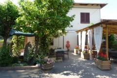 Ferienwohnung Toskana Weingut | Zafferano Aussichtsterrasse