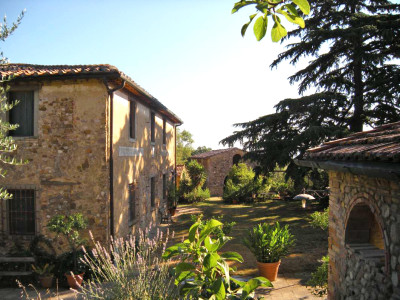 Ferienwohnung Toskana | Landhaus Le Rose Hausansicht