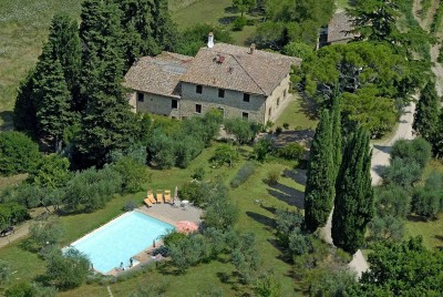 Ferienwohnung Toskana Pool | Landhaus Le Rose | Hausansicht
