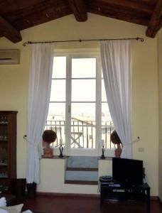 Toskana Ferienwohnung Florenz - Terrassenzugang
