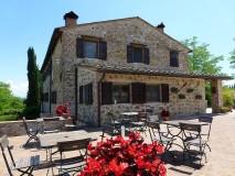 BB Toscana | Borgo Toscano | San Gimignano | Fruehstuecksveranda