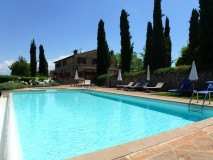 Toskana Bed and Breakfast Italien mit Pool