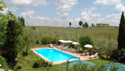 Toskana Ferienhaus mit Pool