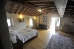 Toskana Ferienhaus Siena - Dependance mit Dreibett