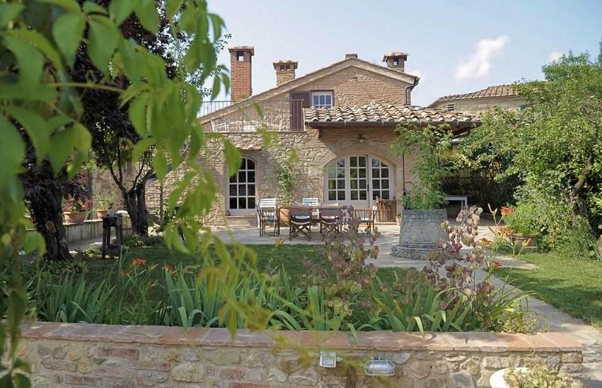 Ferienhaus siena mit privatem pool in radicondoli toskana - Toskana garten ...