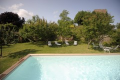 Toskana Ferienhaus Siena - Poolbereich