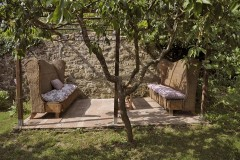 Ferienhaus Siena Toskana - Gartendetail