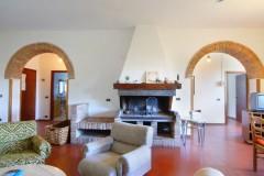 Ferienwohnung Toskana - Casale Olivo - Benedetta Wohnbereich