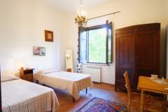 Ferienwohnung Toskana - Casale Olivo - Cipresso Zweibettzimmer