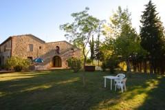 Ferienwohnung Toskana - Casale Olivo - Ansicht Dependance