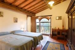 Ferienwohnung Toskana - Casale Olivo - Zweibettzimmer Dependance