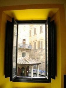 Toskana Ferienwohnung Florenz - Aussicht Piazza