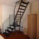 Ferienwohnung Florenz - Treppe zum Zweibettzimmer