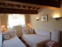 Toskana Ferienwohnung Florenz - Zweibettzimmer