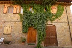 Ferienwohnung Toskana - Casale Olivo - Zugang Cipresso-Benedetta