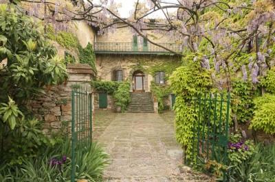 B&B Villa Toskana - Villa Antica - Eingang Villa
