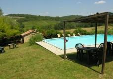 B&B Villa Toskana - Villa Antica - Panorama Pool