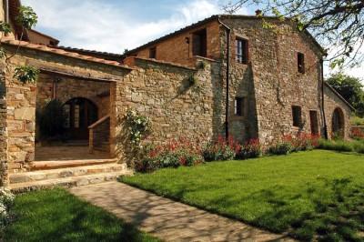 Ferienwohnung Toskana Weingut | Antiker Weiler Il Tiglio